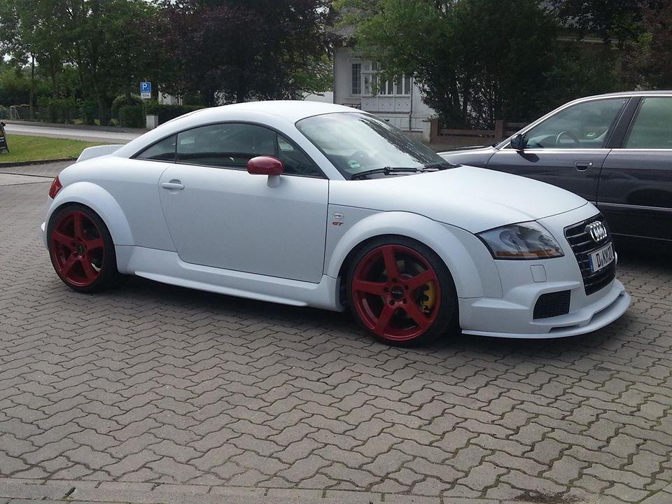 Audi Tt 8n Wide Body Forged Wheels Carbon Fibre Aero