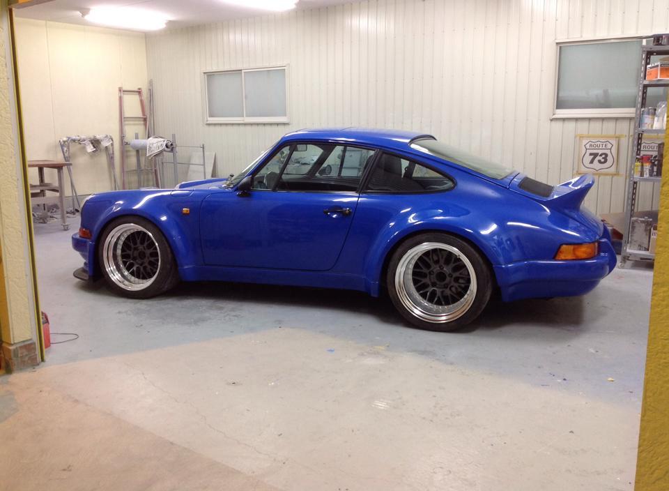 Porsche 930 Wide Body Rear
