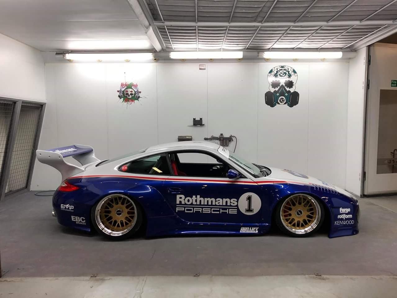 Porsche 997 Slant Nose