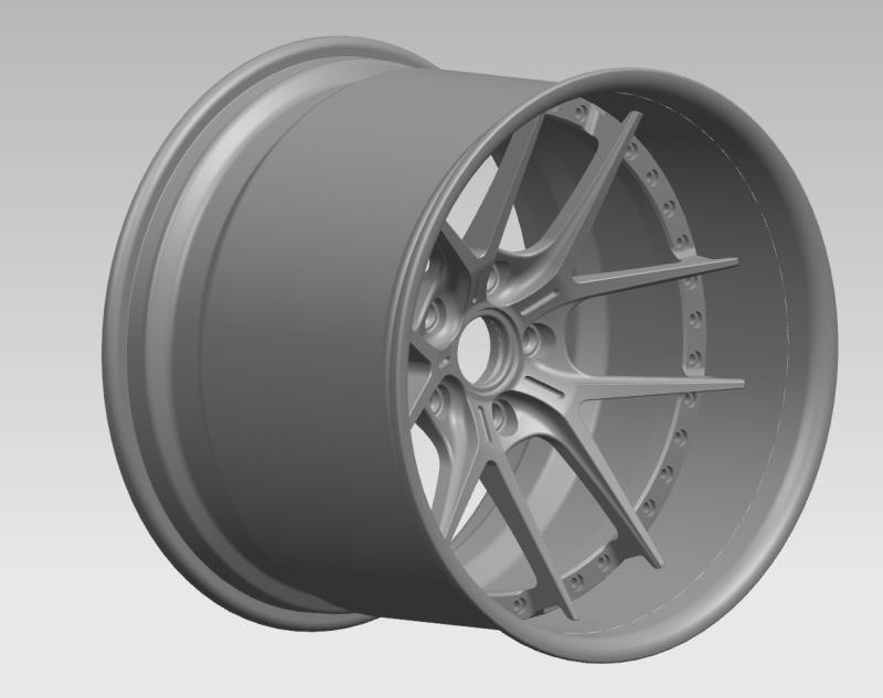 VAD Forged Magnesium 2 piece