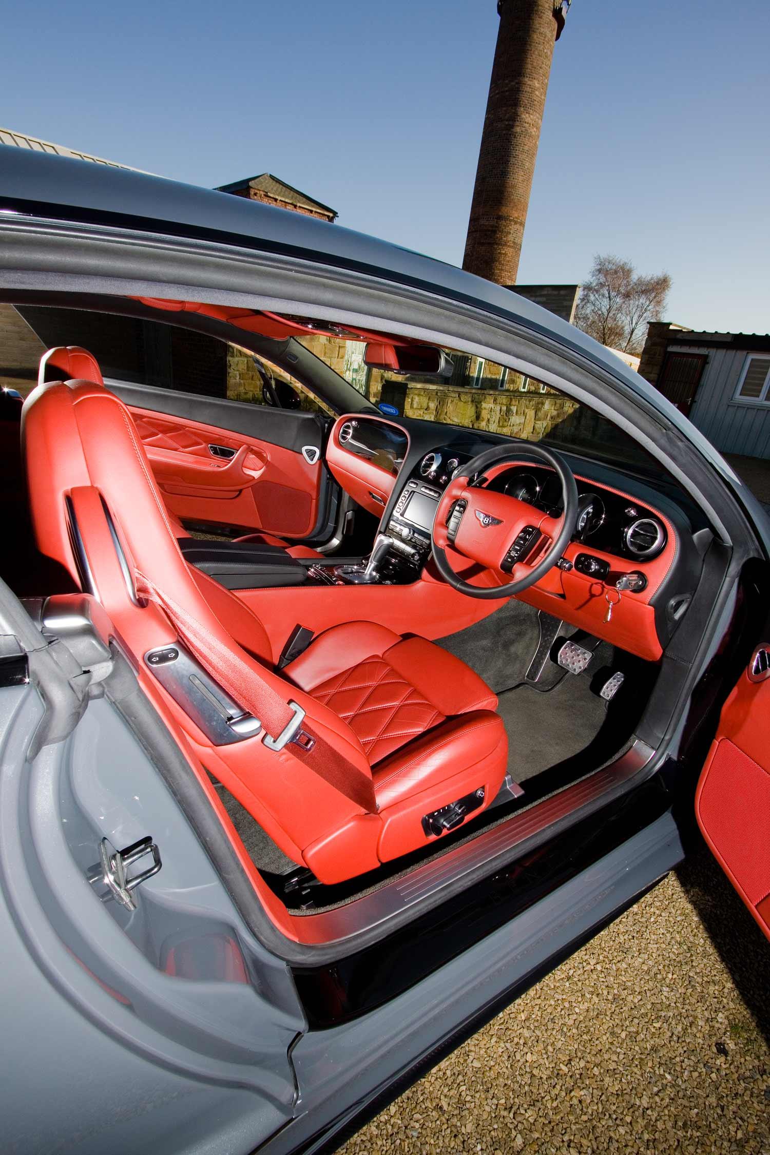 Bentley GT wide body Interior