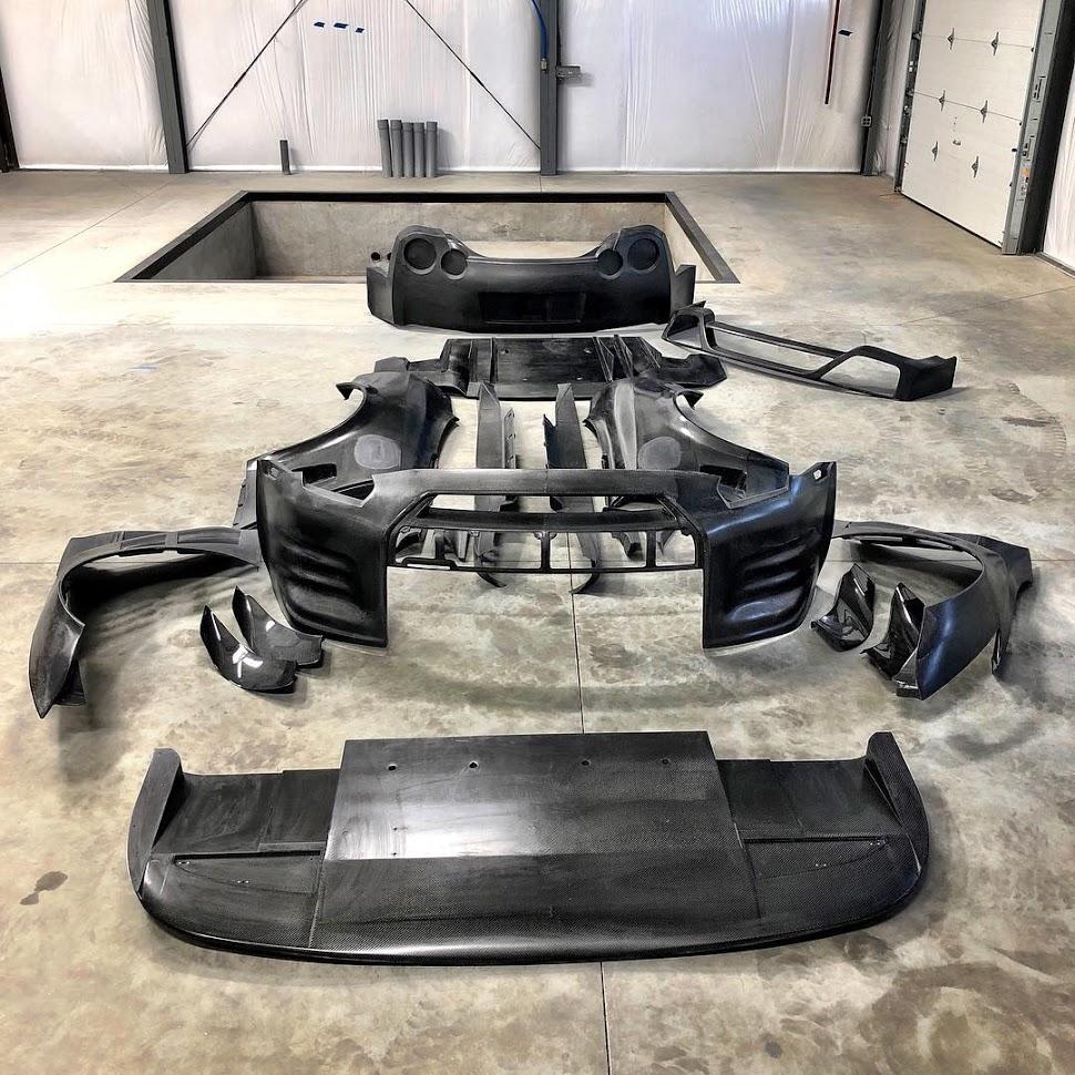 Ichiban GTR Carbon Fibre Aero Kit