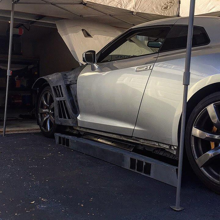 Nissan GTR Wide Body