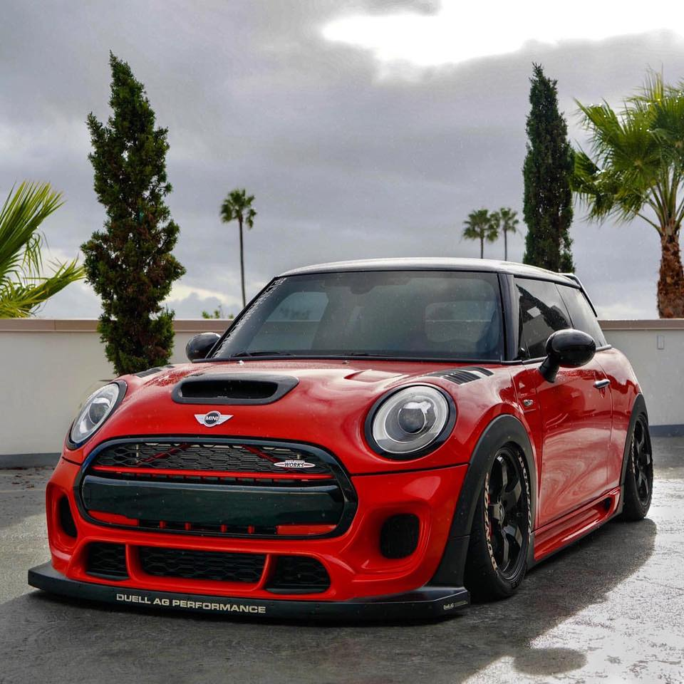 DuelL AG F56 front bumper Ver.3