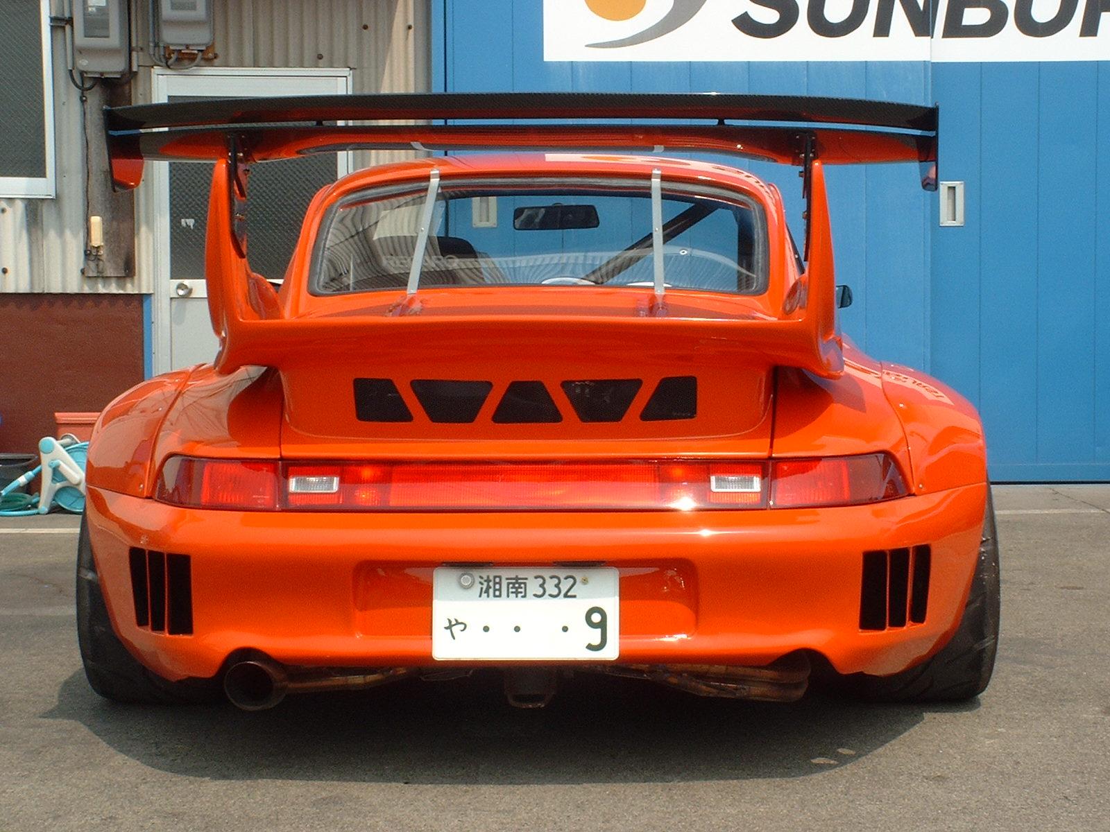 Sunburst 911 993 Model