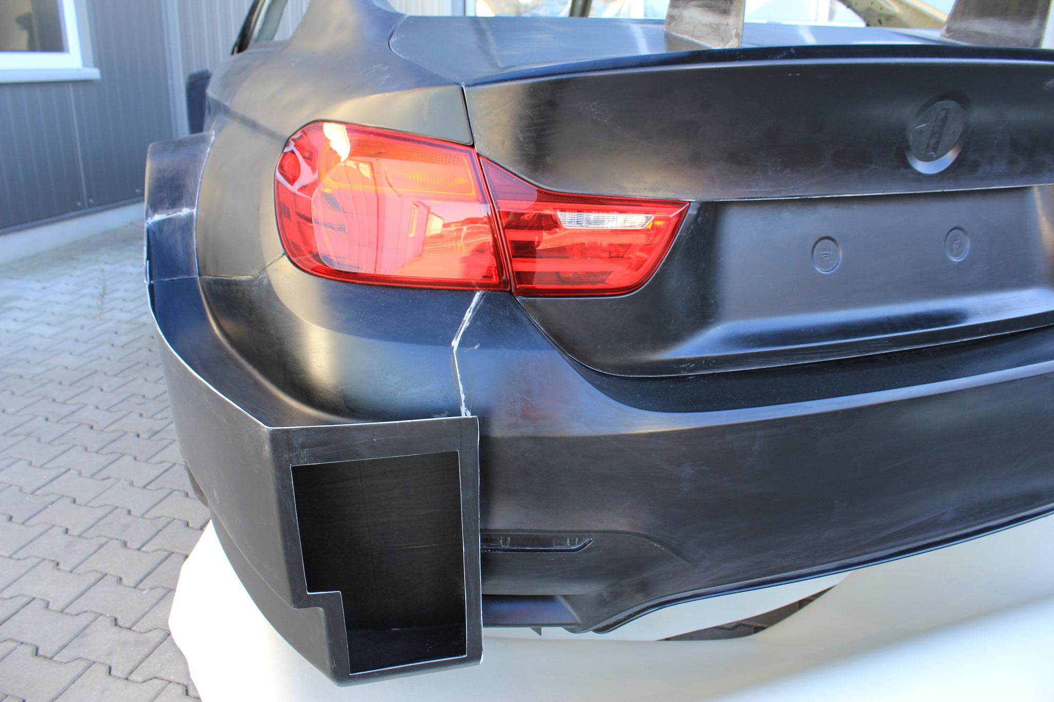 BMW M4 DTM Rear Bumper