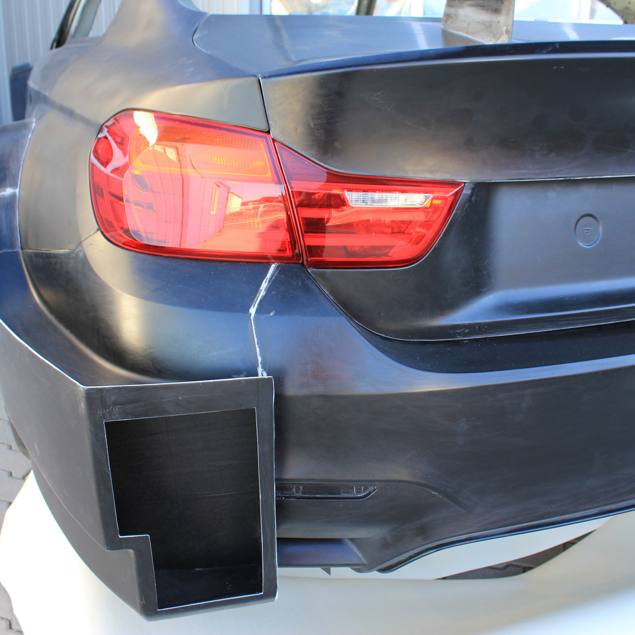 BMW M4 DTM Rear Bumper