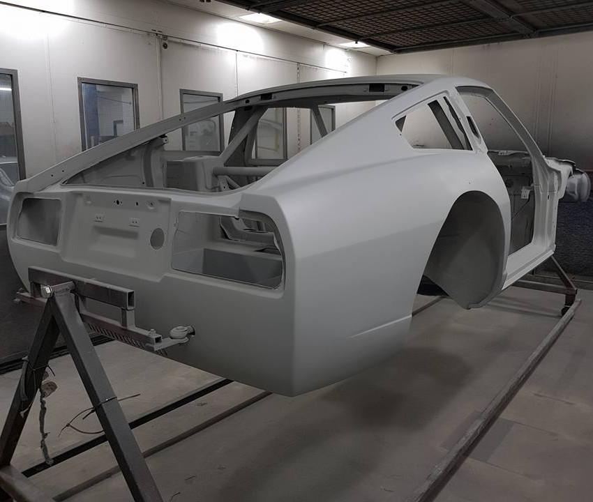 DATSUN 280ZX V8 Turbo Build