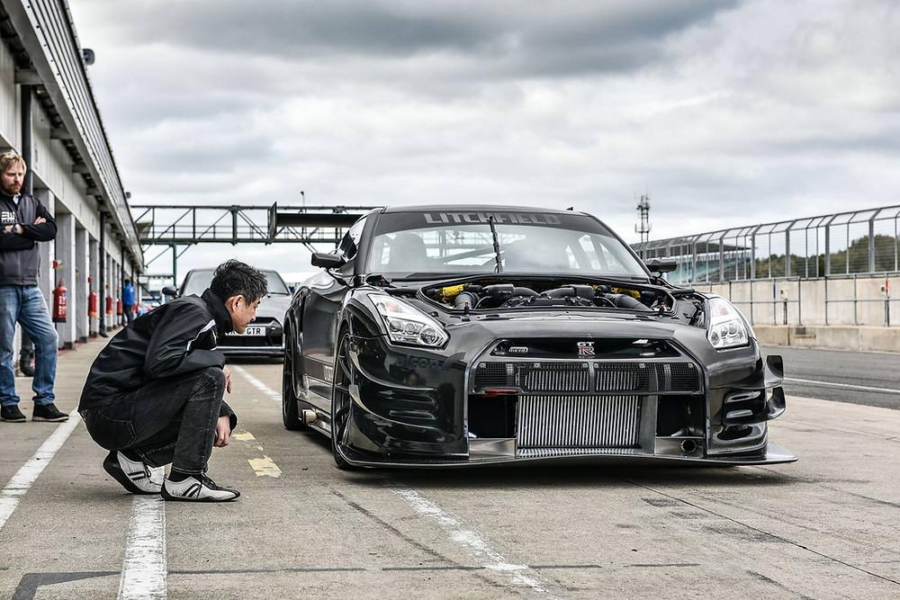 Antony Gaylard Nissan GTR LM1-RS