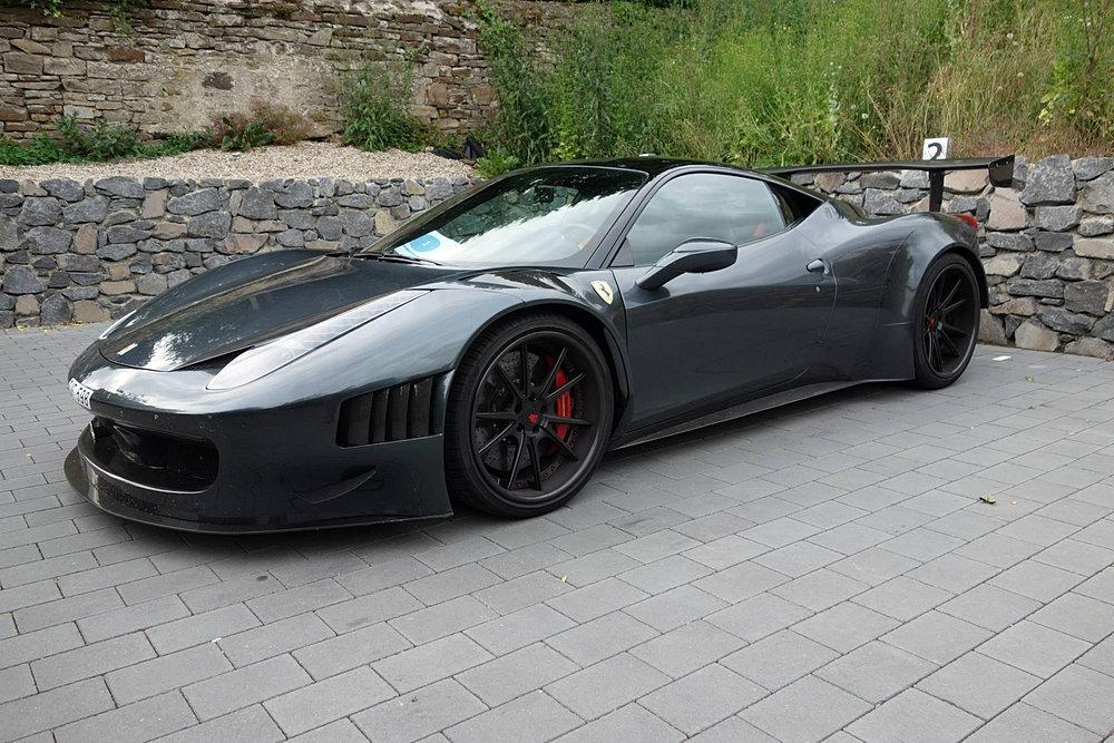 Ferrari 458 Curseive Gt3