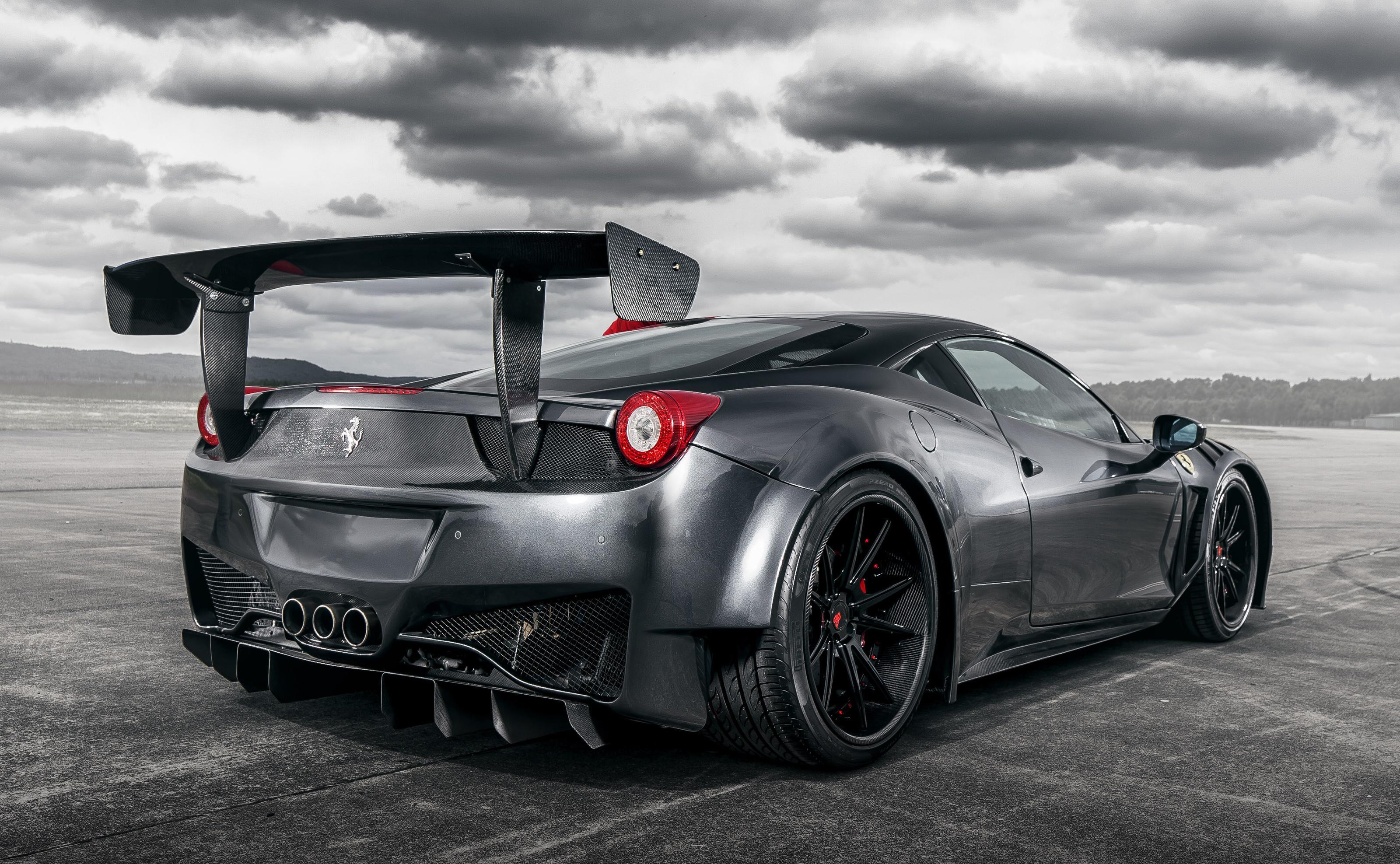 Ferrari Curseive 458 GT