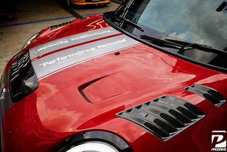 DuelL AG R60 front Vented Bonnet