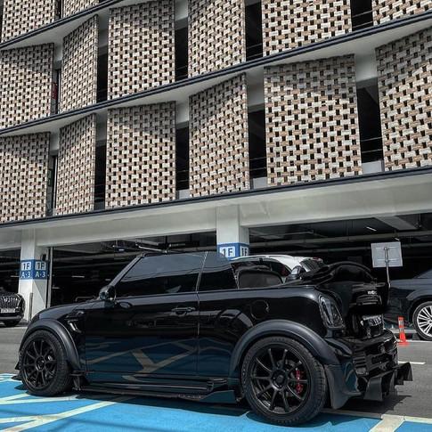 Mini R57 Cabriolet Flares