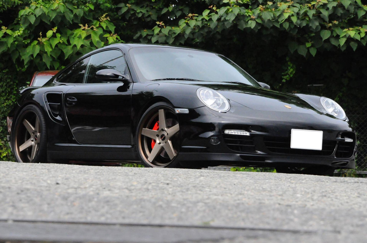Porsche 997 Turbo Fitted With 20'' HFC5.2