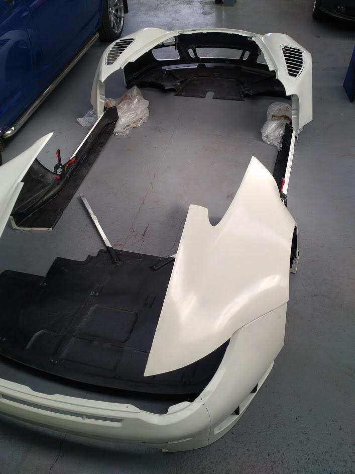 Porsche 997 GT3R rear