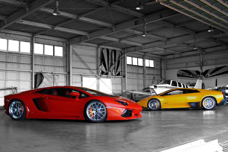 Lamborghini Murcielago _ Aventador Fitted With 20'' HFC7
