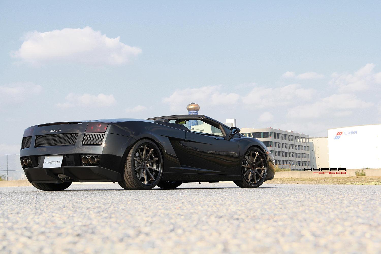 Lamborghini Gallardo Fitted With 20'' HF_C10