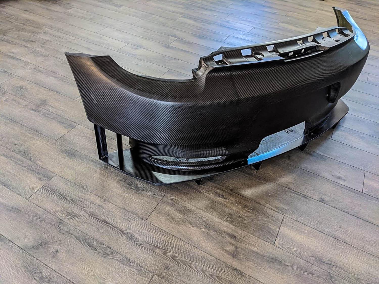 Cayman RSR Rear Bumper & Diffuser