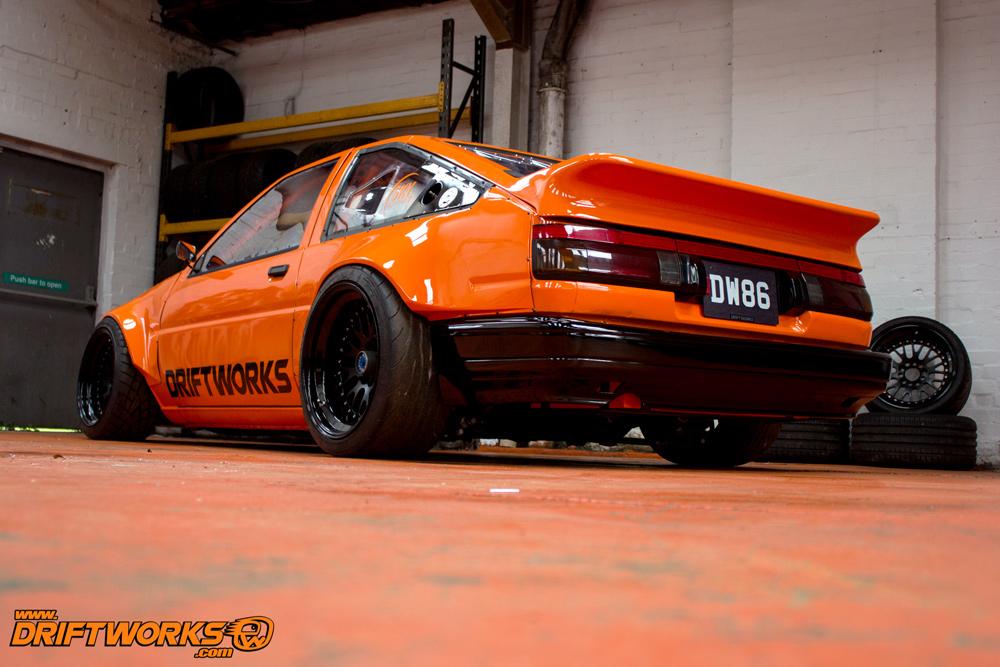 Driftworks DW86 V8 Drift car
