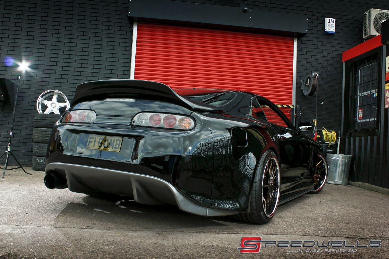Speedwells Supra Black with ducktail