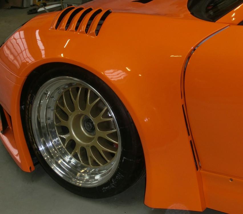 Porsche 996 RSR XXL Front Fender