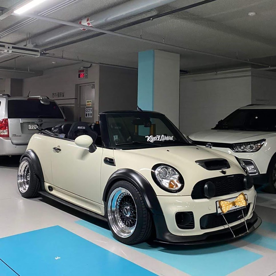 Mini R56 Cabriolet 25mm 35mm flares