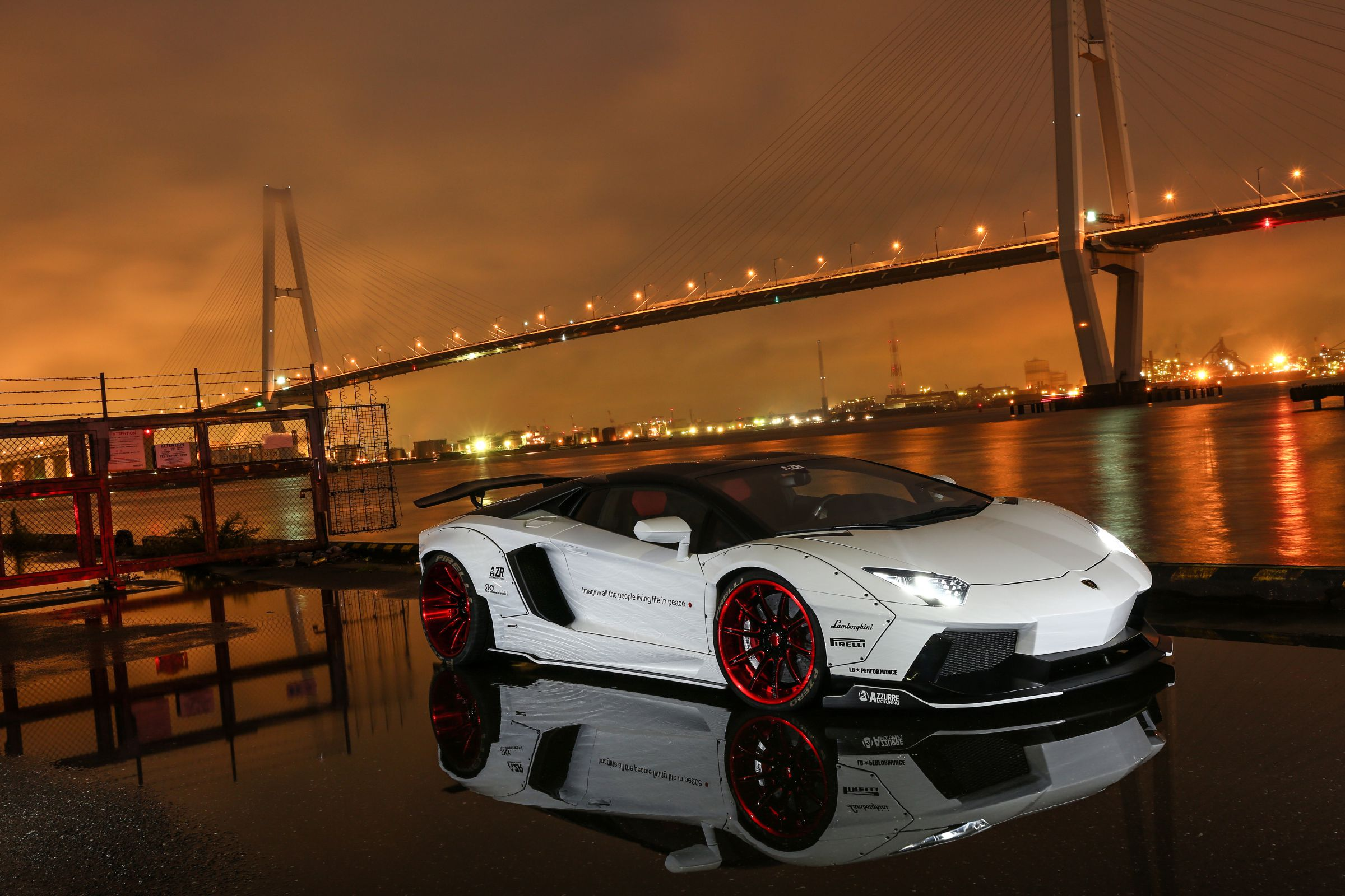 LB Performance Aventador