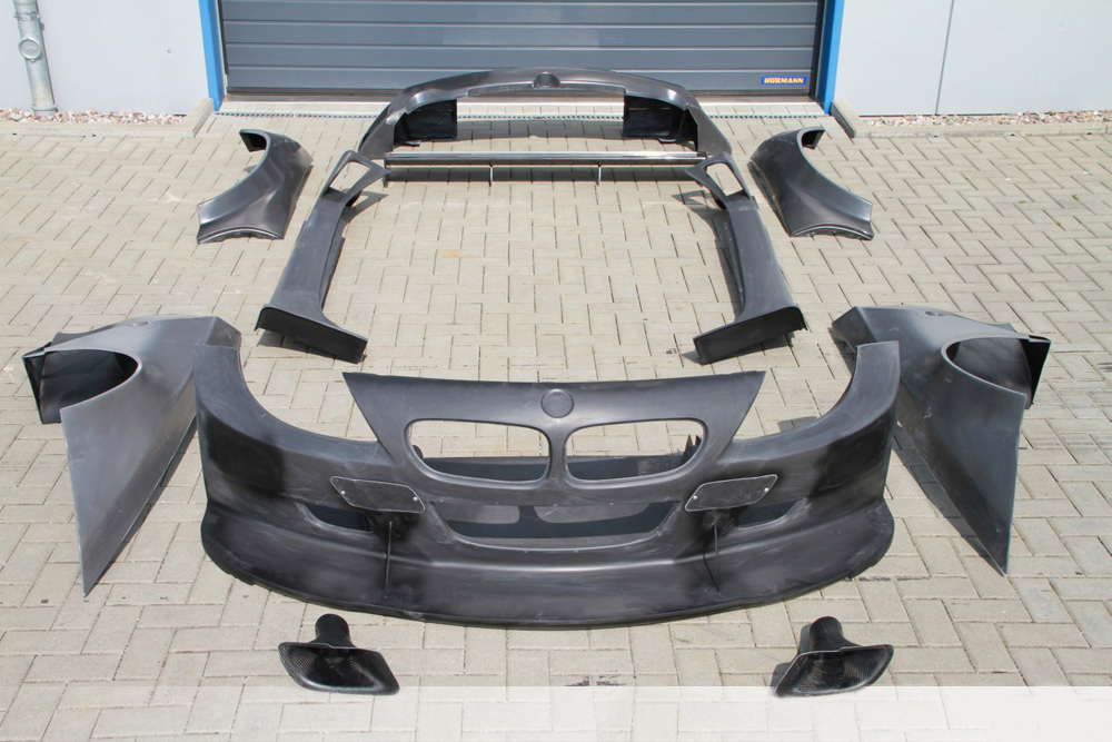BMW e86 Z4 GTR aero kit