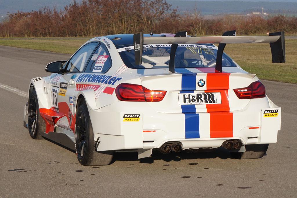 BMW M4 DTM_Rear