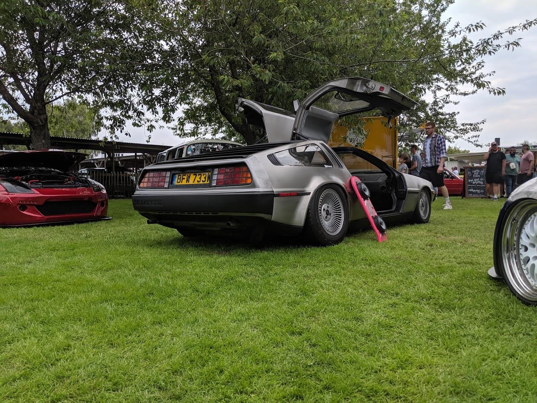 DeLorean Goodwood Motor Circuit