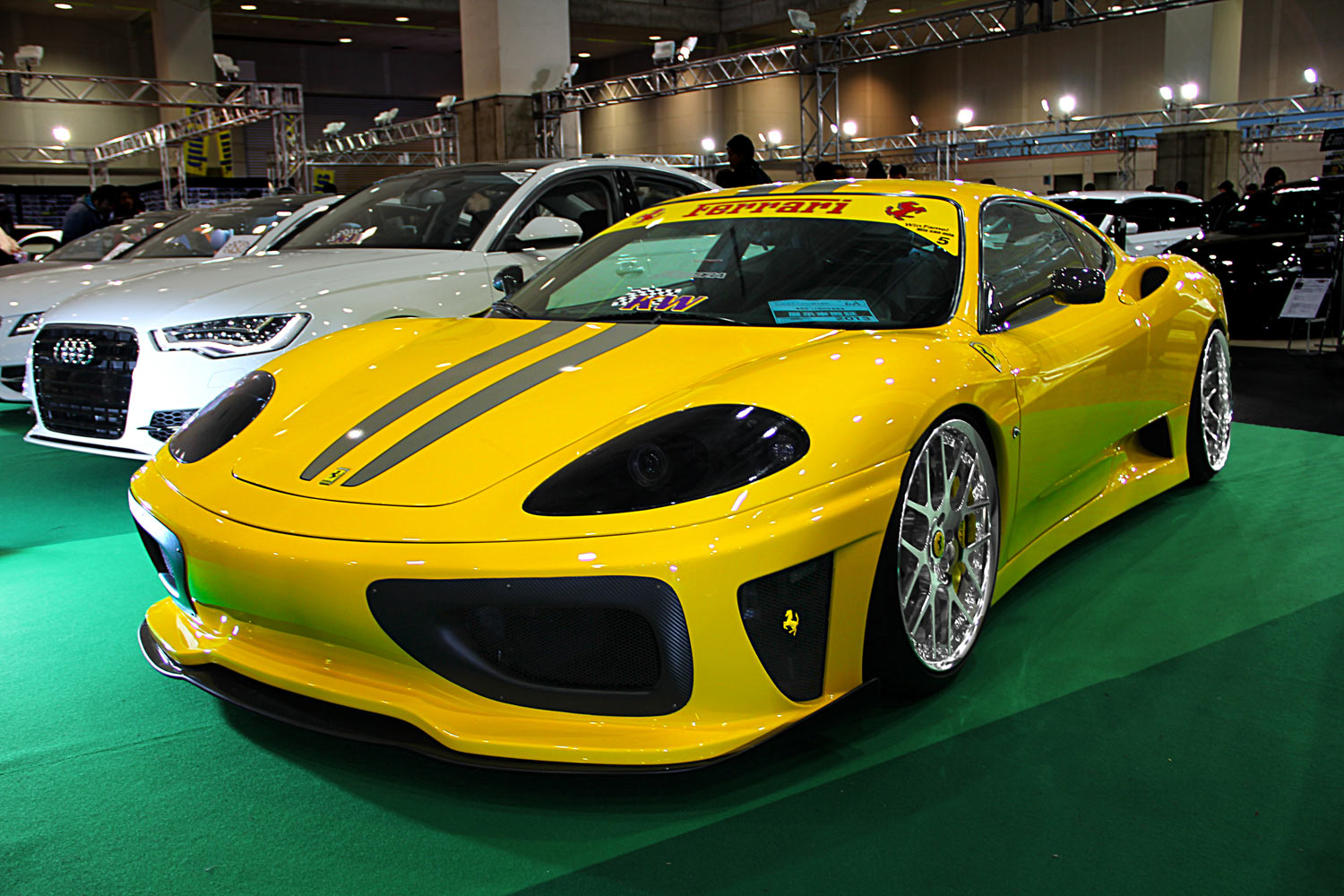 Ferrari 360 Modena Fitted With 20'' HFC7