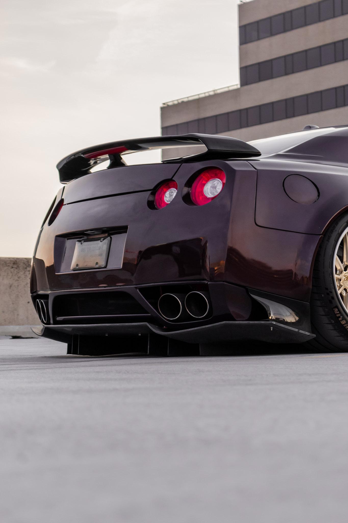 Nissan GTR GT3 Rear Diffuser
