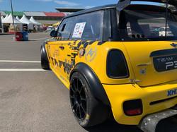 R56 Mini wide fenders, 9x17 ATS GTR