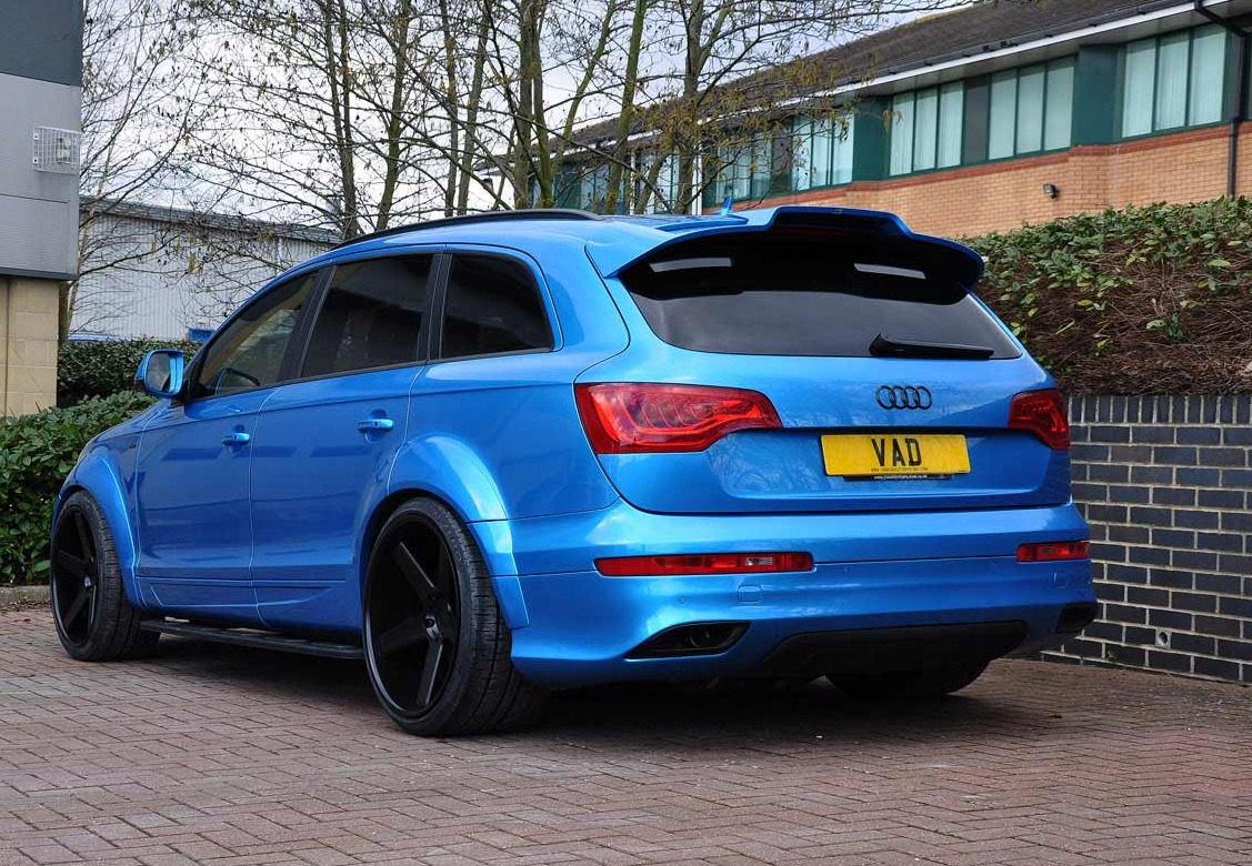 abt Audi Q7 fitted with 10
