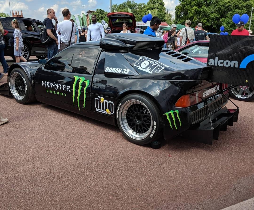 Pat Doran RS200, Alcon Brake Stand
