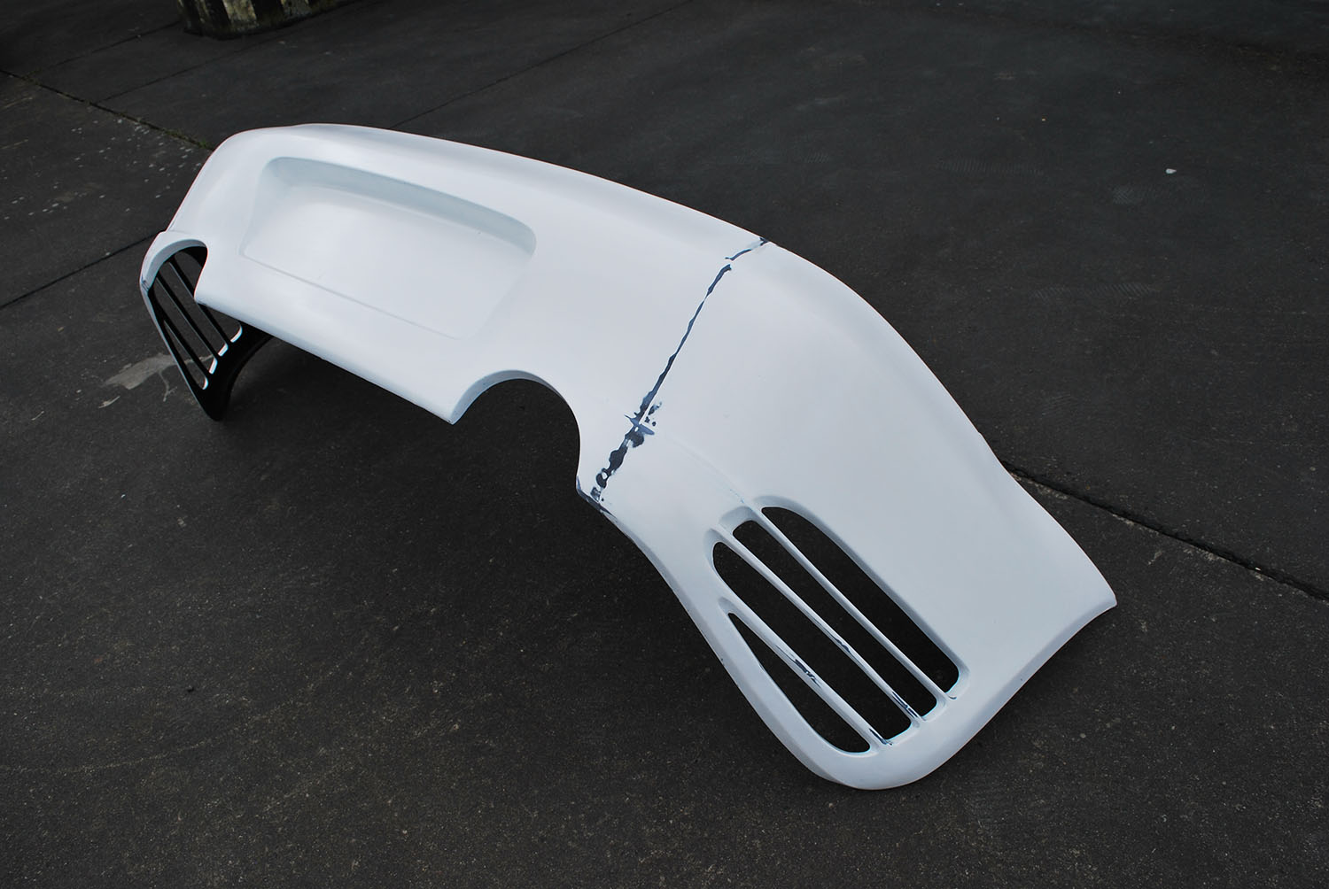 Porsche 996 Turbo-R Rear_Bumper