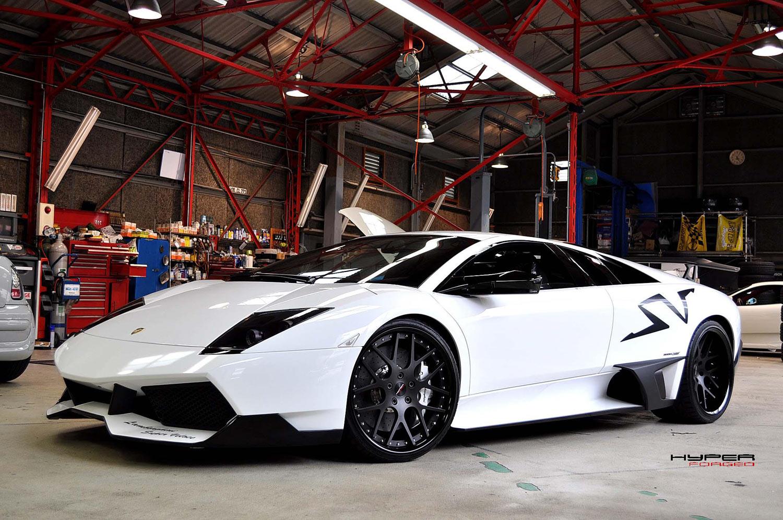 Lamborghini Murcielago sv Fitted With 20'' HFC7