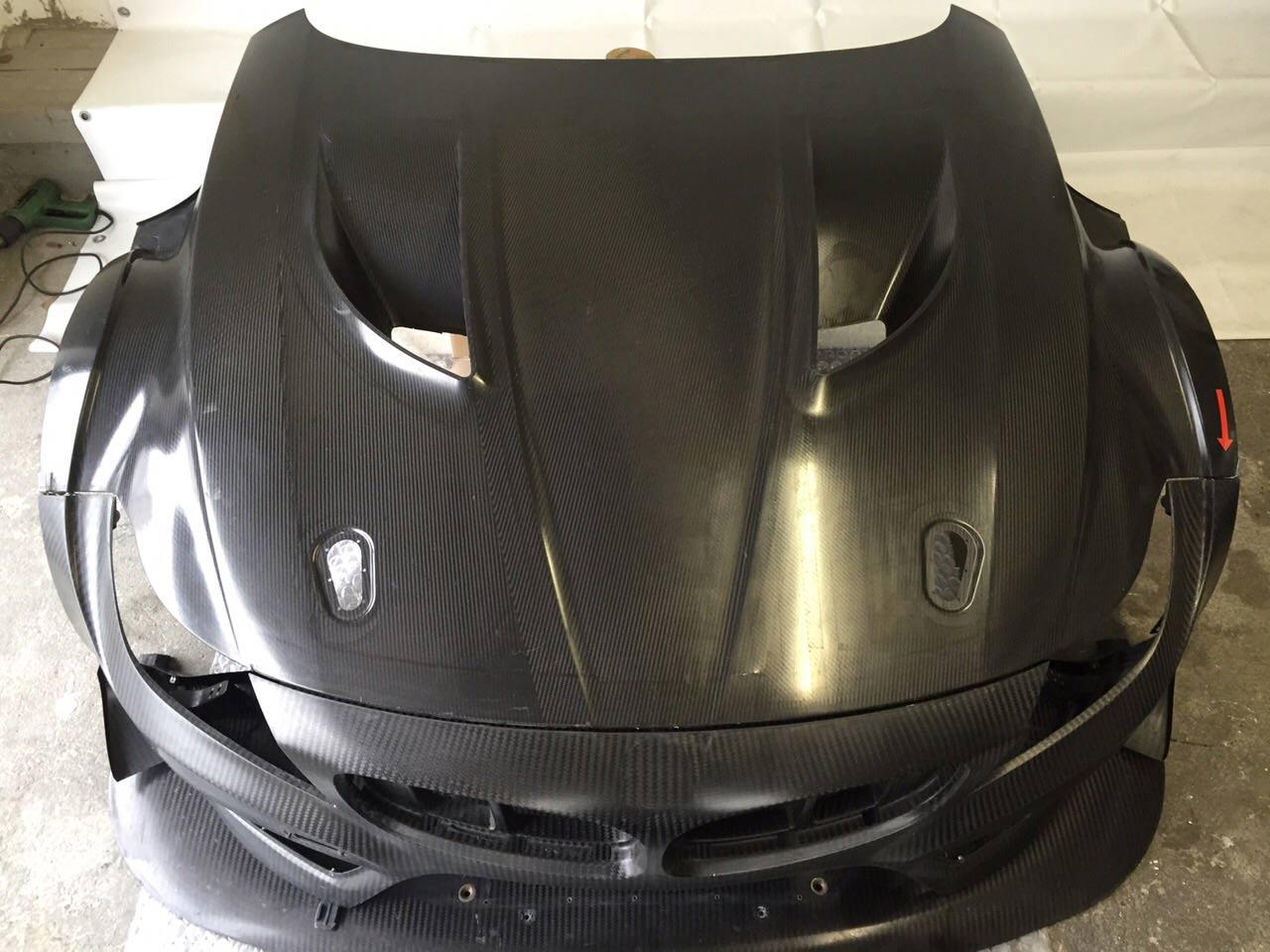 BMW Z4 Carbon GT Hood