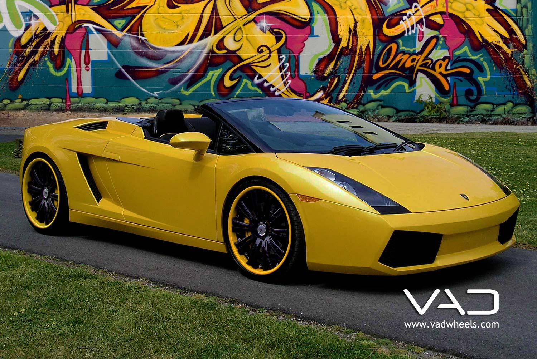 Lamborghini-Gallardo-Yellow-Fitted-With-20''-Trafficstar-SFR-Coded-Lips