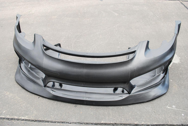 Cayman RSR Front Bumper_Splitter