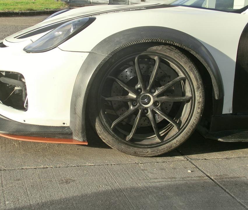 Porsche Cayman Wide Body