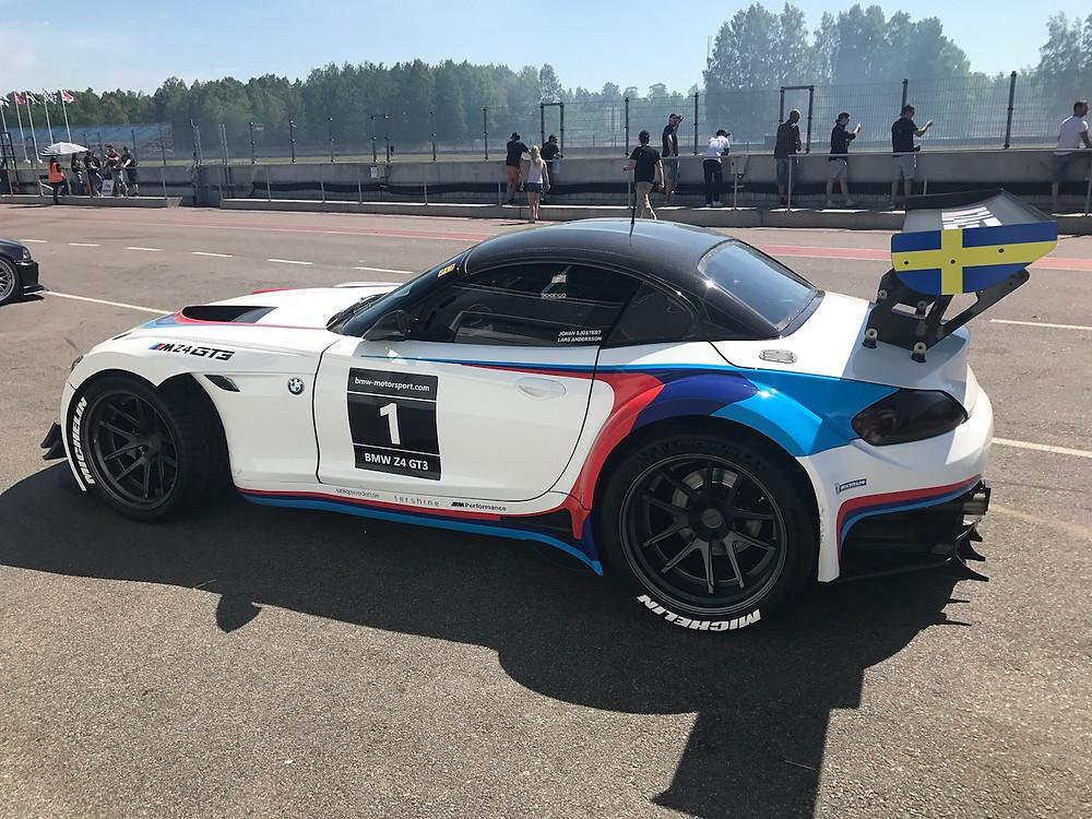 Johan Sjöstedt BMW Z4 GT3 all new look