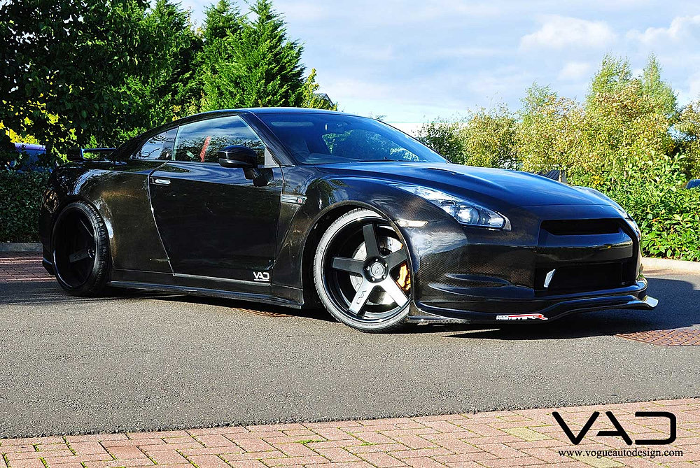 Nissan Gtr Carbon Wide Body