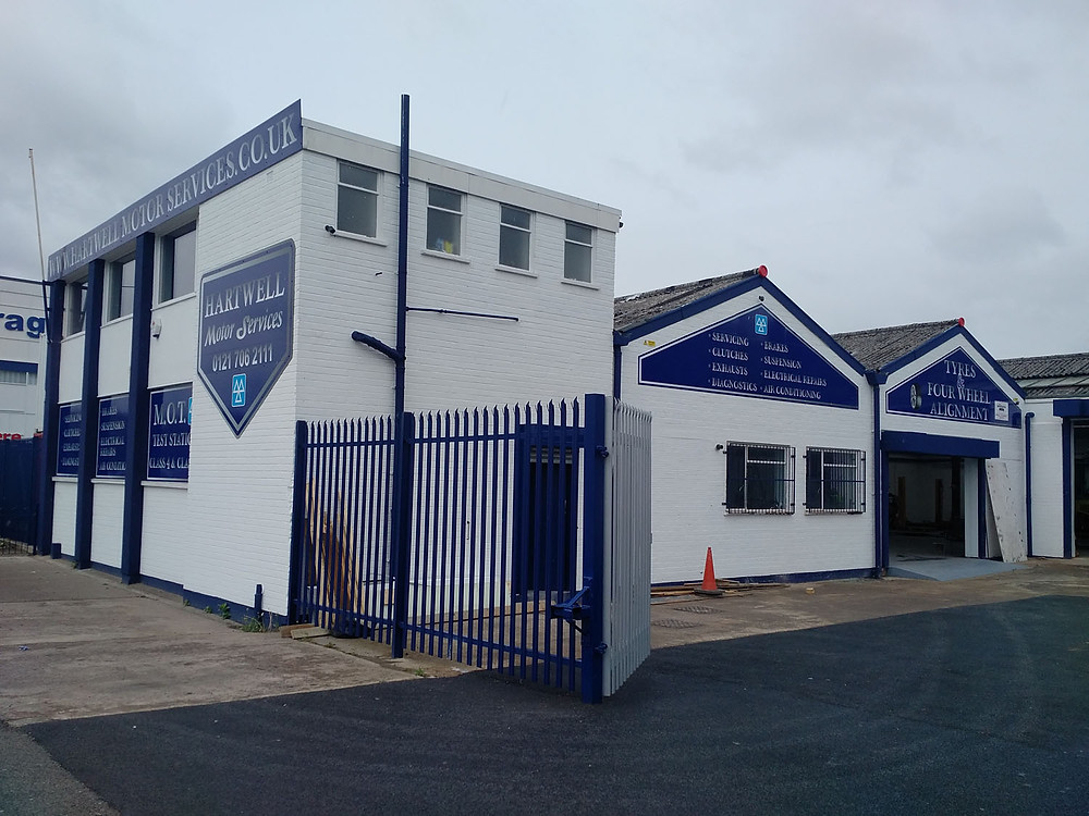 Hartwell Motor Services New HQ