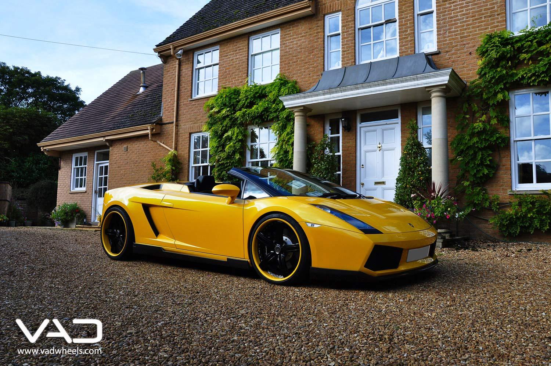 Lamborghini-Hamann-Gallardo-Fitted-With-20''-Trafficstar-STR-Coded-&-Black