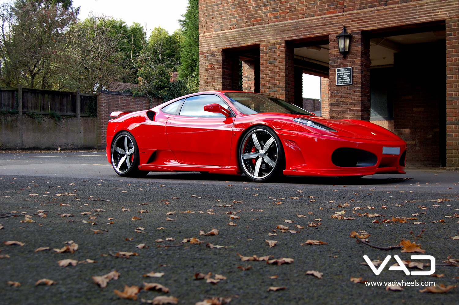 Ferrari F430 Fitted With Trafficstar STR Polished and With Black Detail