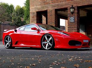 Ferrari F430 Fitted With Trafficstar STR