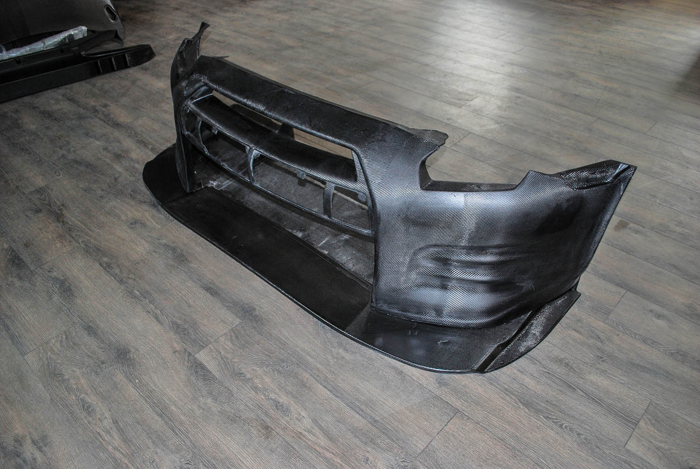 GTR R35 Front Bumper  & splitter