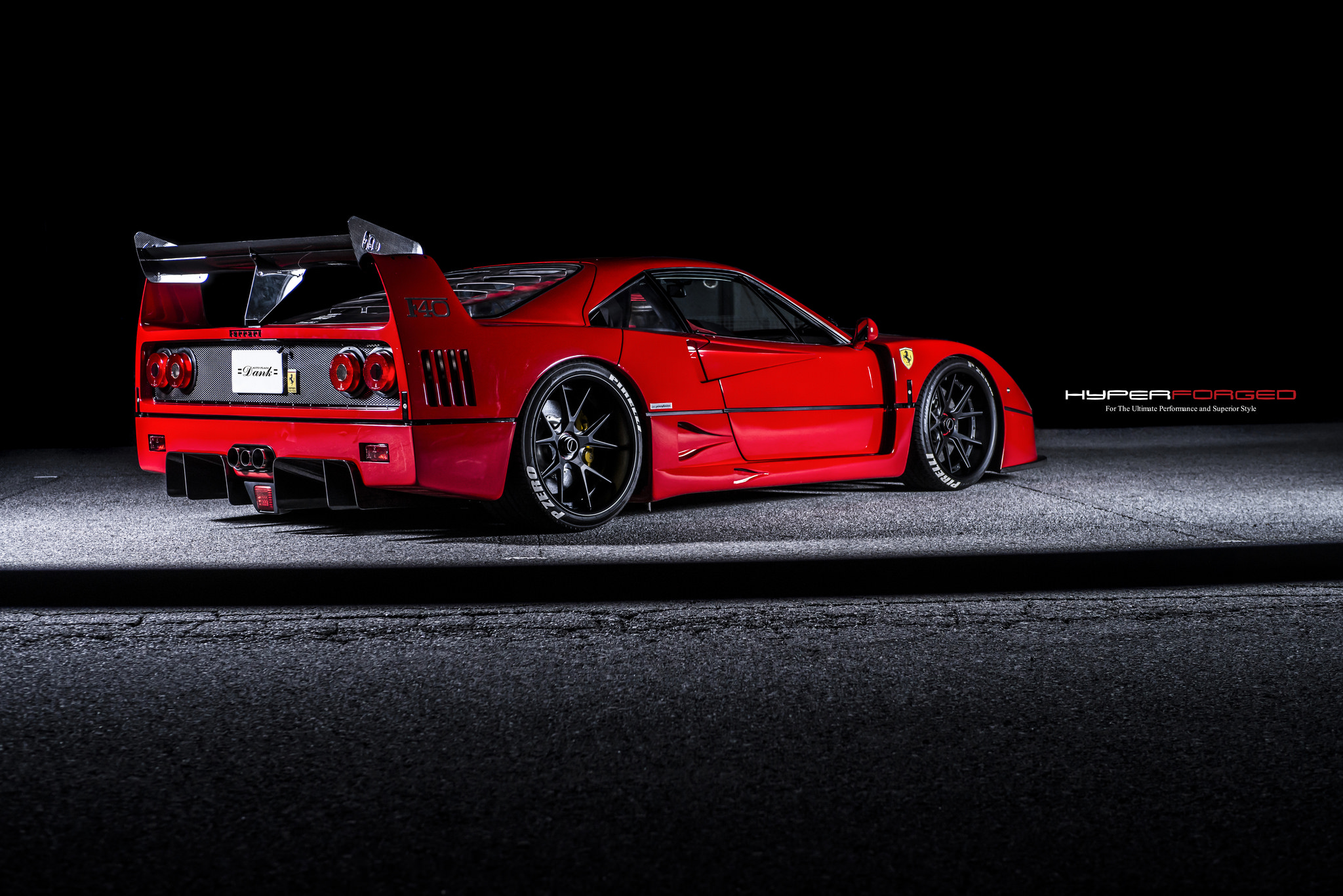 Ferrari F40 LM Hyper Forged Wheels