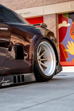 Nissan GTR GT3 Rear Quarter Panel & side